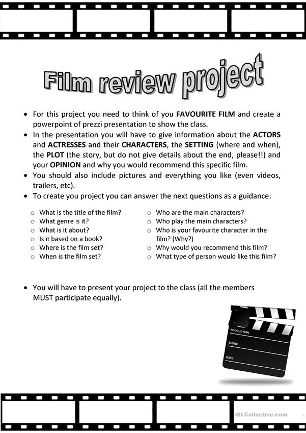 Film Review Project