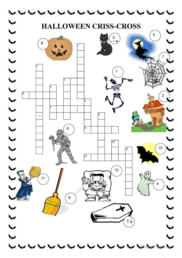 Crosswords - Halloween