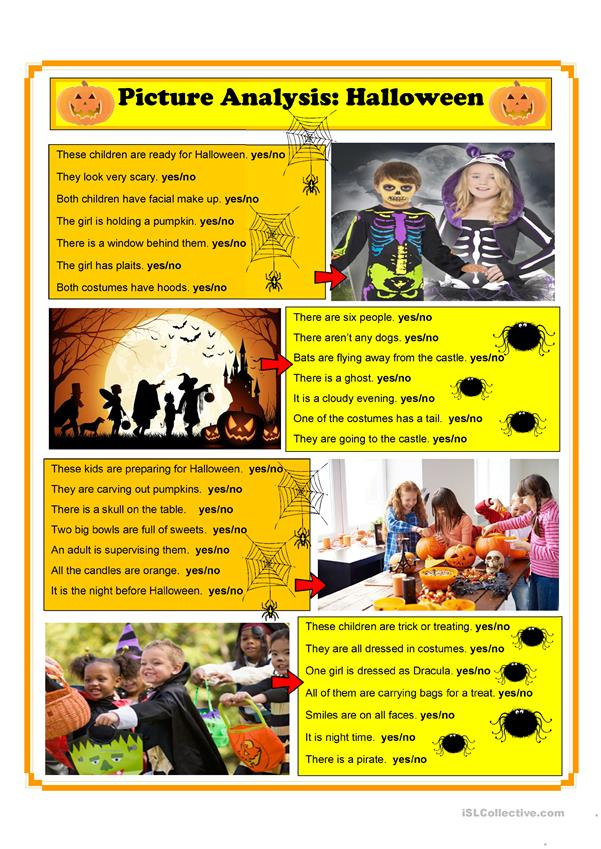 Halloween Picture Analysis