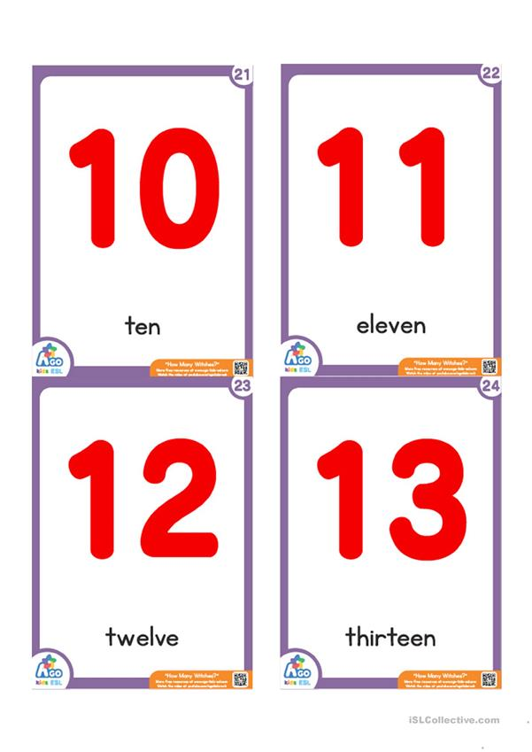 How Many Witches? Flashcard Set - Halloween Vocabulary and Prepositions