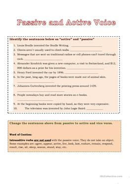 Solution Worksheet Free Esl Efl Printable Worksheets And Handouts Weathering Erosion And Deposition Worksheet Pdf with Getting Ready For Kindergarten Worksheets Word Passive And Active Voice Two Way Tables Worksheets Pdf