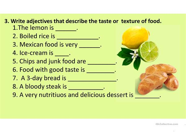 FOOD REVISION