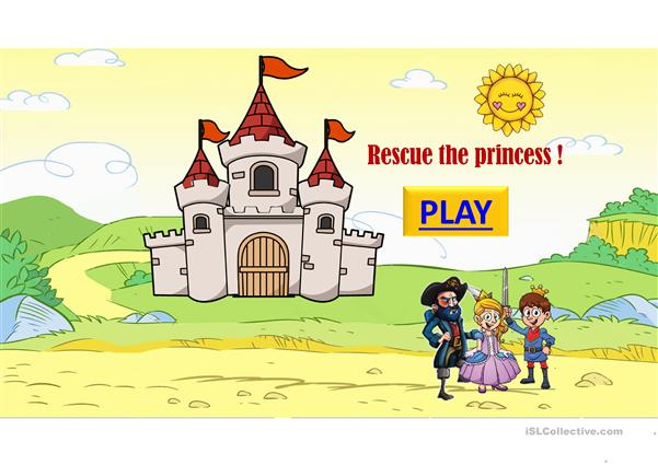 Rescue the princess colors game