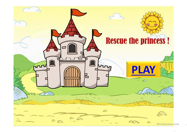Rescue the princess game