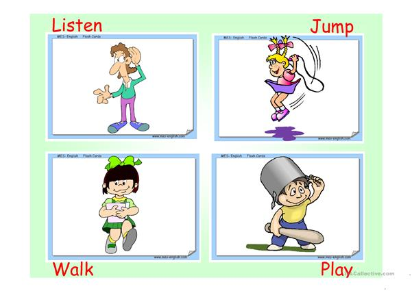 Simple past activities
