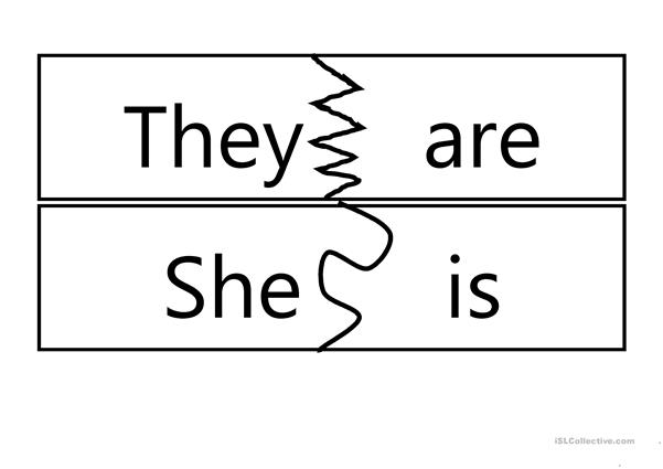 WORD CARDS AM IS ARE AND PRONOUNS.