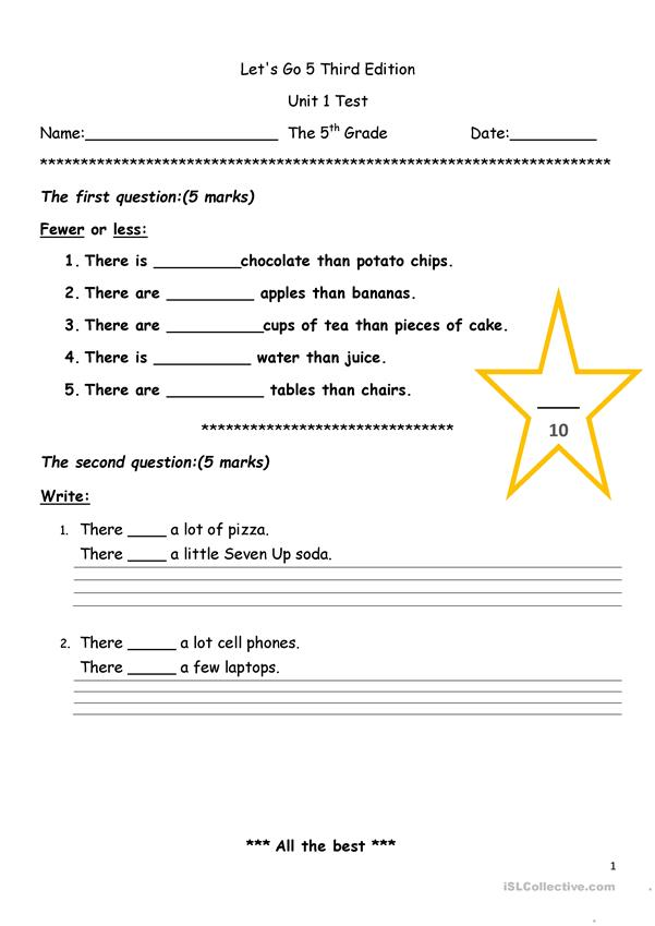 Limpiar el piso esférico Jajaja  countable and non countable nouns comparison more fewer less - English ESL  Worksheets for distance learning and physical classrooms