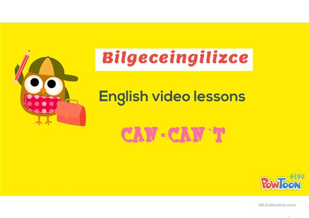 Can-Can`t ppt