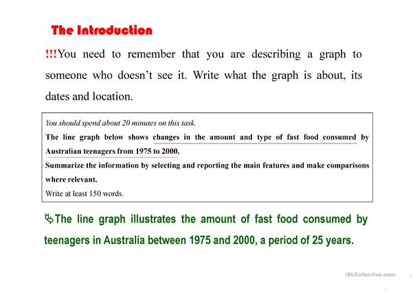 How to write IELTS task 1 - academic