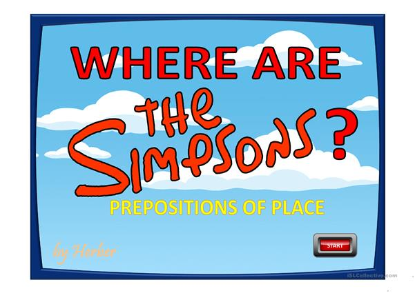 WHERE ARE THE SIMPSONS?