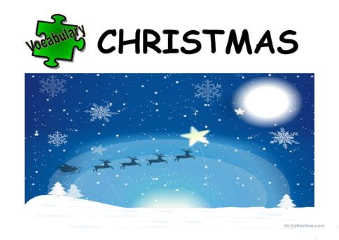 CHRISTMAS 2017 worksheet - Free ESL projectable worksheets made by ...
