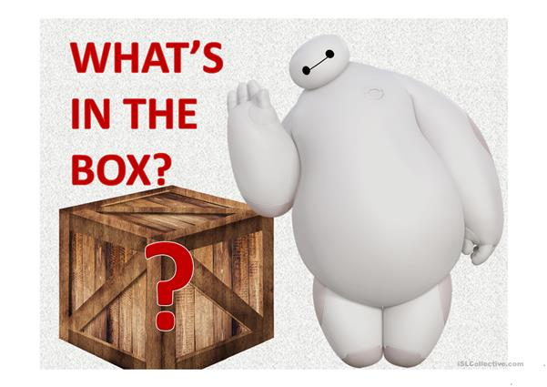 Game: What's in the Box?