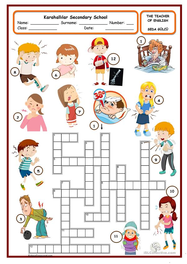 health crossword