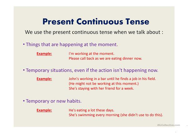 Present tence revision powerpoint