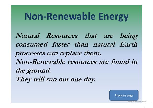 Renewable or....not renewable? That is the question!!!