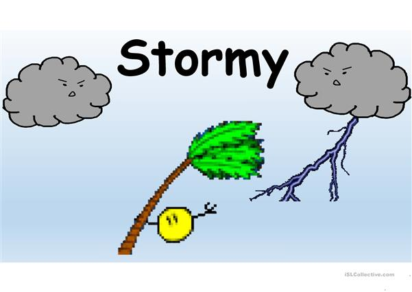 WEATHER FLASH CARDS ANIMATED