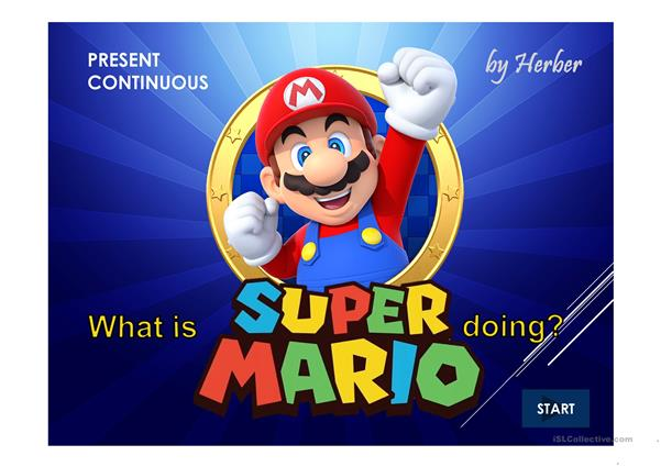WHAT IS SUPER MARIO DOING?