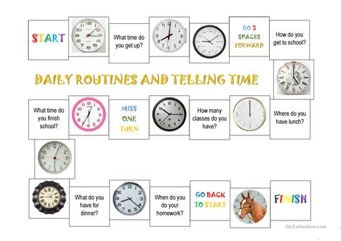 Daily routines and telling time worksheet free esl printable daily routines and telling time worksheet free esl printable worksheets made by teachers ibookread PDF