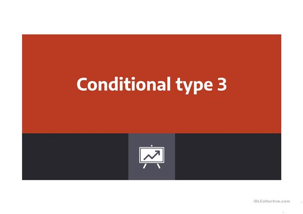 Conditional Type Three