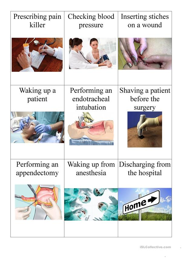 medical vocabulary for nurse anesthetists