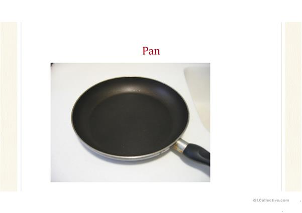 Pancake Day Vocabulary