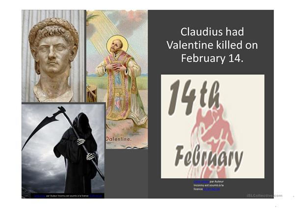 THE STORY OF VALENTINE PART II adapted from a document by « redyelruc », from ISLcollective to whom the credit should go