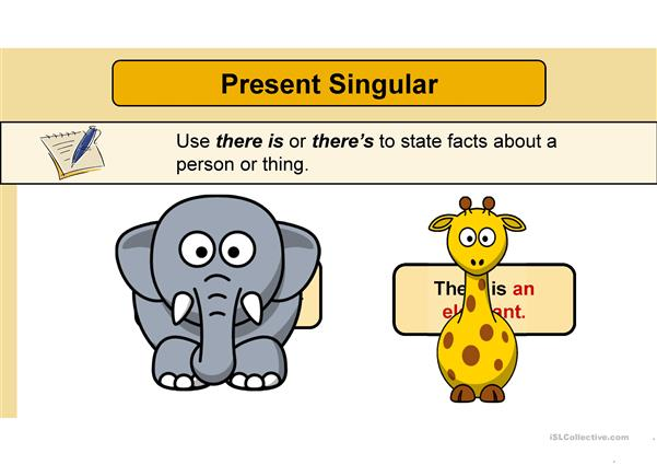 There is - There are - how many - prepositions  - where