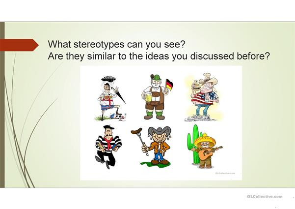 Culture and stereotypes