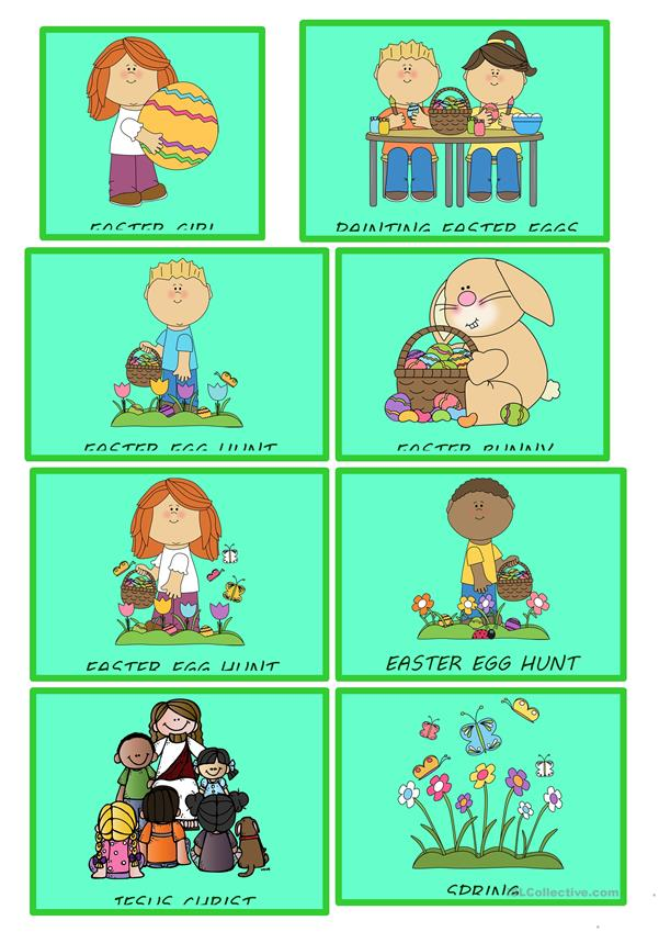 EASTER FLASHCARDS