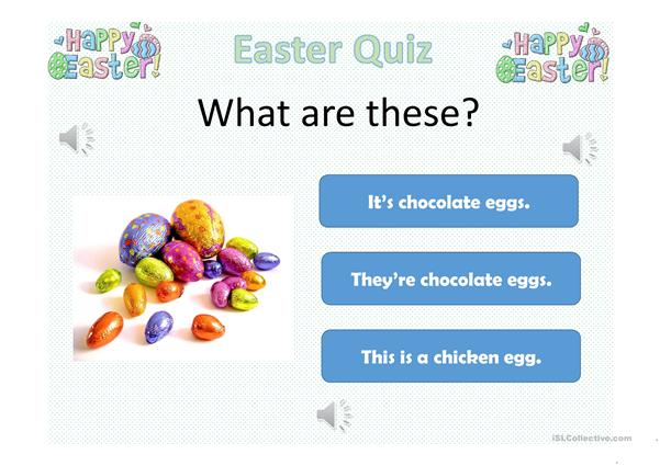 Easter quiz for kids