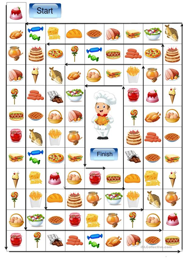 Food - board game