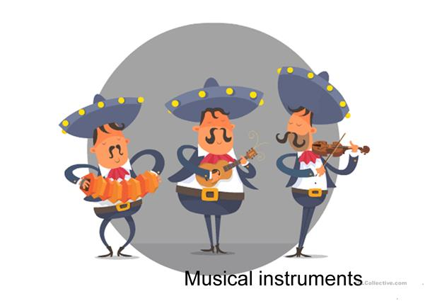 Musical instruments-game