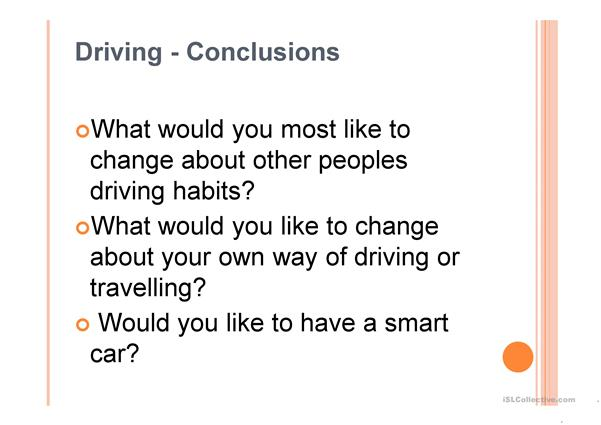 TED talk, driverless cars