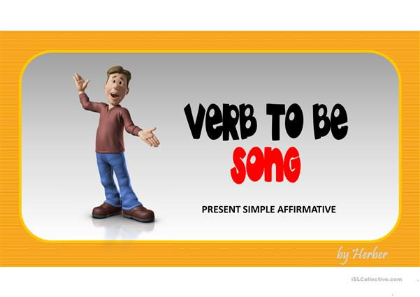 VERB TO BE SONG