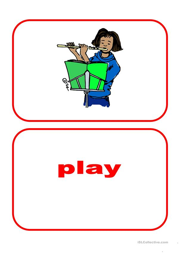Flashcards - Actions 1