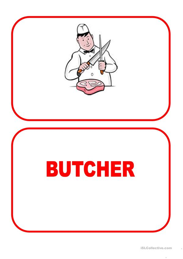 Flashcards - Jobs 1