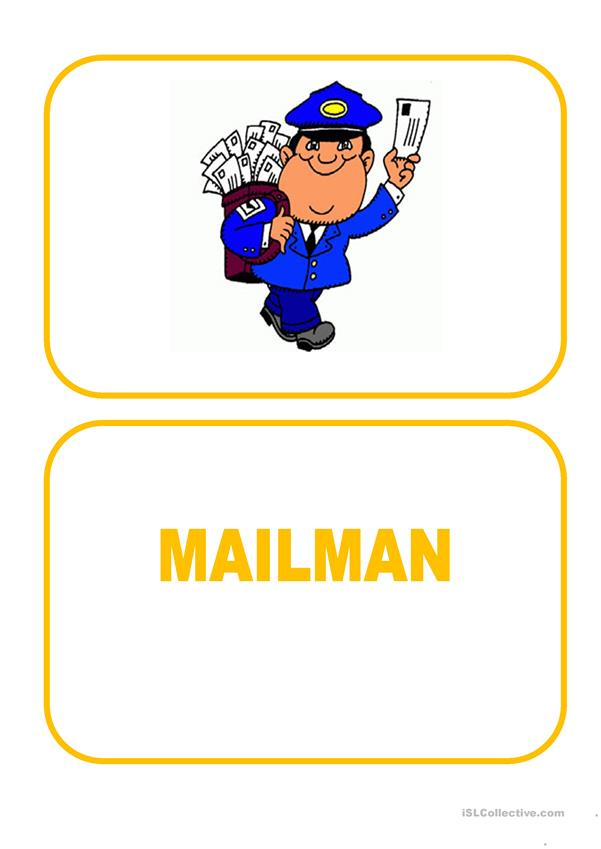 Flashcards - Jobs 2