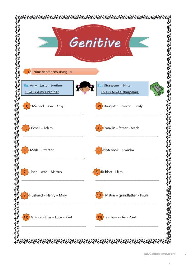 Genitive 's
