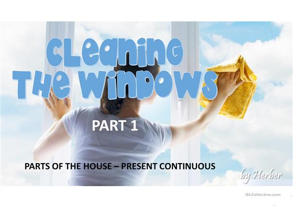 CLEANING THE WINDOWS PART 1