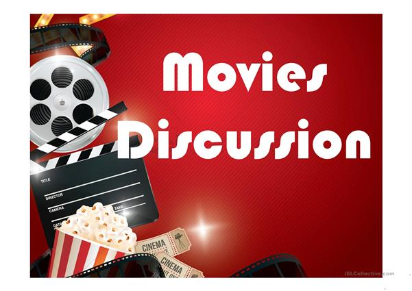 Discussion topics about movies