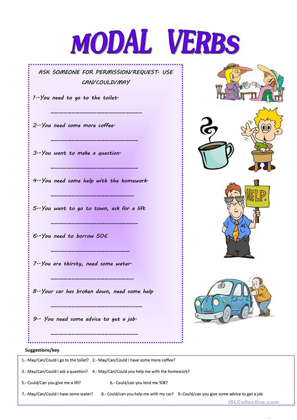 MODAL VERBS: ASKING FOR PERMISSION