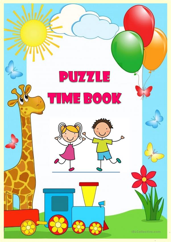 Puzzle Time Book