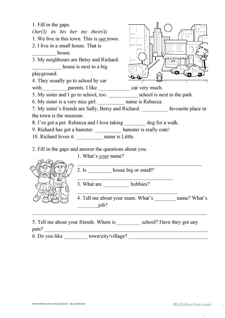 What questions does the pronoun answer?
