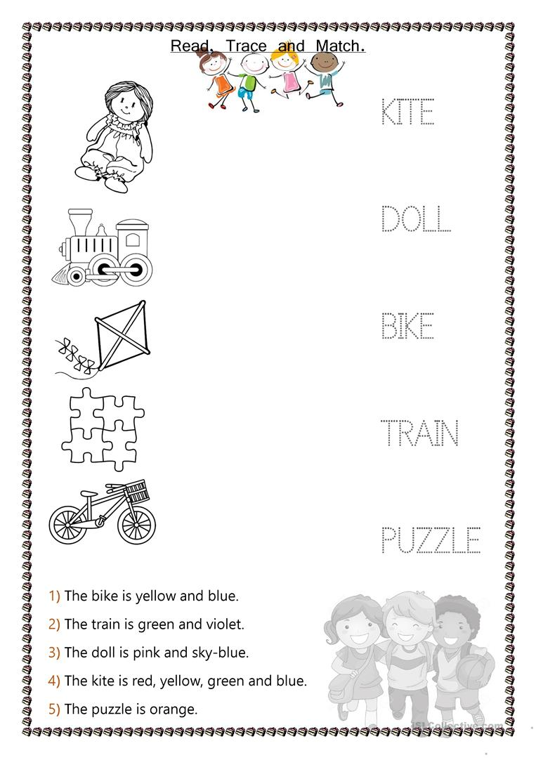 Toys - Kids - English ESL Worksheets