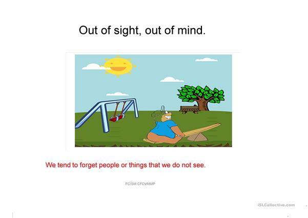 Learn Idioms with images and meanings 8 SM