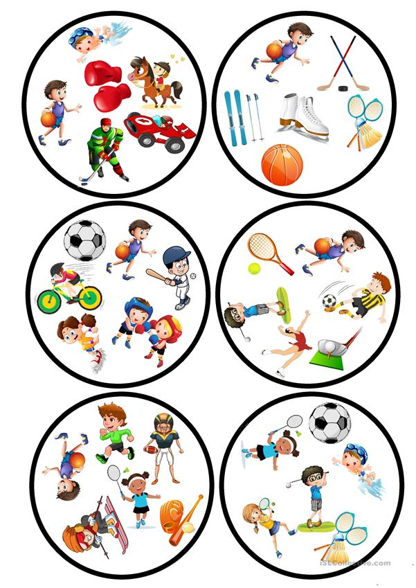 Sports Dobble game
