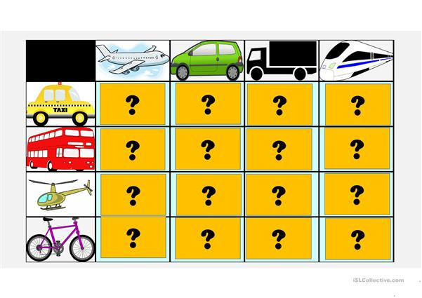 Transport comparative points game