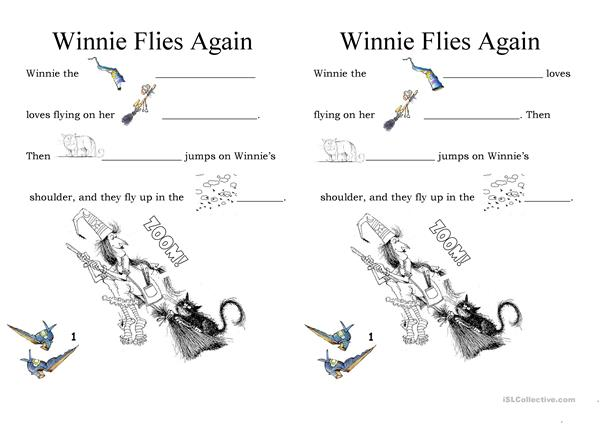 Winnie Flies Again exercises