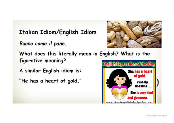 Special Lesson on Idioms