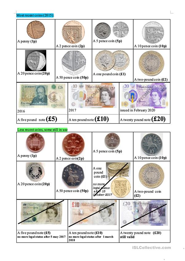 New British currency